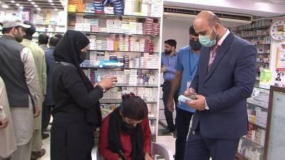 اسلام آباد میں کورونا وائرس سے بچاؤ کے لیے مفت ماسکس تقسیم