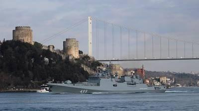ترکی کے ساتھ کشیدگی، روس نے دو بحری جنگی جہاز بحیرہ روم میں بھیج دیئے