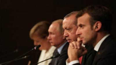 روس اور ترکی شام میں فوراً لڑائی روک دیں:فرانسیسی صدر کا مطالبہ