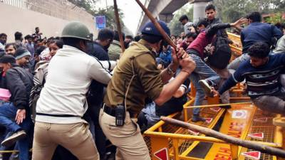 نئی دہلی میں مسلم کش فسادات کے دوران مسلمانوں پر ہوئے مظالم پر بھارتی میڈیا بھی بول پڑا