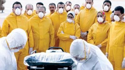 کرونا وائرس کے باوجود مصری خاتون وزیر صحت کا دورہ چین