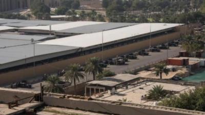 بغداد کے گرین زون میں امریکی سفارتخانے کے قریب 2 راکٹ حملے