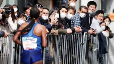 کورونا کا خوف، ٹوکیو میراتھن میں صرف 900 افراد کی شرکت