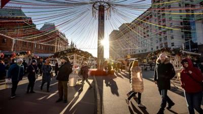 ماسکو میں تاریخ کا گرم ترین موسم سرما