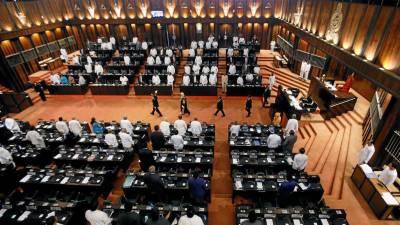 سری لنکاکے صدر نے پارلیمنٹ تحلیل کردی
