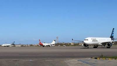 حملے کے بعد طرابلس کے معیتیقہ ہوائی اڈے کو خالی کرا لیا گیا