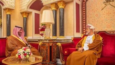 سعودی نائب وزیر دفاع کی سلطنت عمان کے فرمانروا سے دو طرفہ تعلقات پر بات چیت