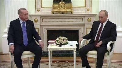 شام میں ترک فوجیوں کی اموات پر افسوس ہے:پیوٹن کی ایردوآن سے تعزیت