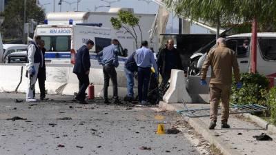 تونس میں امریکی سفارت خانے پر خود کش حملہ