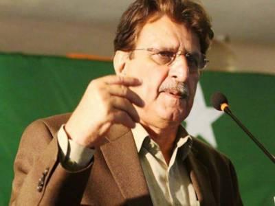 وزیراعظم راجہ فاروق حیدر نے ڈسٹرکٹ بار راولاکوٹ کے نومنتخب عہدیداران سے حلف لیا