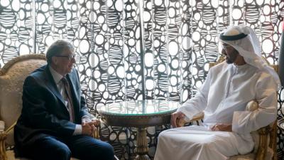محمد بن زاید اور بل گیٹس کا کرونا خاتمے کی مشترکہ جدوجہد پر اتفاق