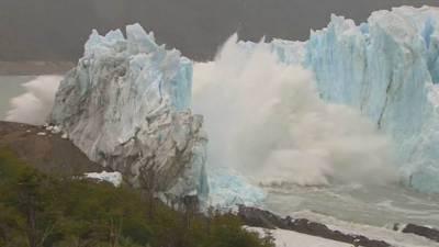 ارجنٹائن :گلوبل وارمنگ کے باعث دیوہیکل برفانی تودہ ٹوٹ کرسمندر میں بہہ گیا