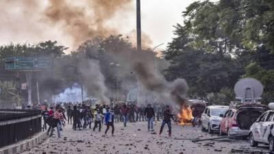 دلی: مسلم کش فسادات، مودی کا بنگلادیش میں داخلہ روکنے کا مطالبہ