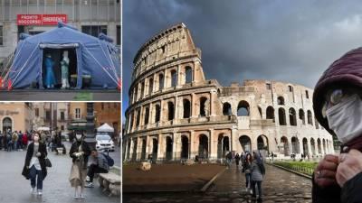 اٹلی :کورونا وائرس سے مزید 133 افراد ہلاک، متاثرہ علاقوں کے لاک ڈاؤن کا فیصلہ