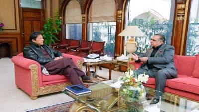 وزیراعظم سے گورنر سندھ کی ملاقات, ترقیاتی منصوبوں پر بات چیت