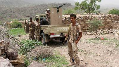 جنوب مغربی یمن میں جاری لڑائی میں فیلڈ کمانڈر سمیت پانچ حوثی باغی ہلاک