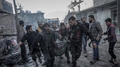شام میں جاری 9 سالہ خونی جنگ کےنتیجے میں تین لاکھ 84 ہزار افراد لقمہ اجل بن گئے