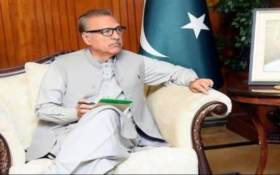 برادر ملک کے ساتھ اظہار یکجہتی، صدر پاکستان آج چین روانہ ہوں گے