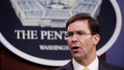 امریکی وزیر دفاع اور ان کے نائب کو کرونا کے شبے میں قرنطینہ منتقل کر دیا گیا