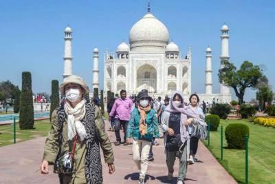 بھارت نے کورونا وائرس کے خدشے کے پیش نظر تاج محل کو بند کردیا