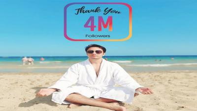 علی ظفر کے انسٹا فالوورز کی تعداد40 لاکھ ہوگئی