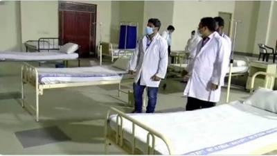 ملتان کےصنعتی علاقےمیں بڑا قرنطینہ مرکز قائم