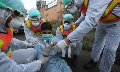 ملک بھر میں کرونا سے 884افراد متاثر ، 6 افراد جاں بحق
