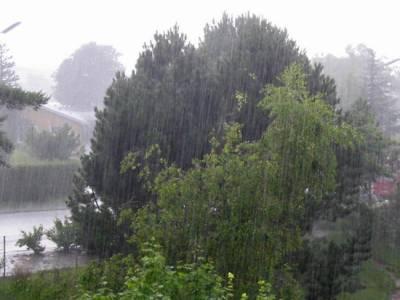 ملک کے بیشتر حصوں میں گرج چمک کیساتھ بارش کا امکان ہے