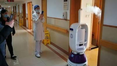 چین : کورونا سے بچاؤ کیلیے جراثیم کش اسپرے کرنے والے روبوٹس تیار