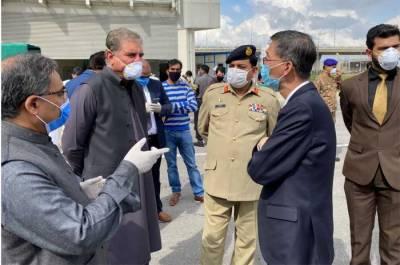 چین میں کورونا وائرس سے لڑنے والی ٹیم پاکستان پہنچ گئی