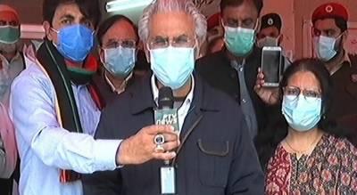 معاون خصوصی ڈاکٹر ظفر مرزا کا پمز اسپتال آئیسولیشن کا دورہ