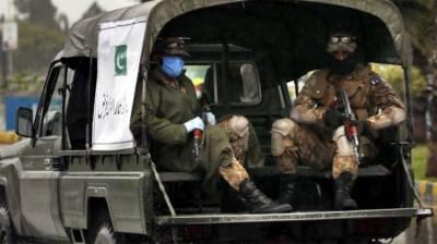 کورونا وائرس، ملک کے بیشتر اضلاع میں پاک فوج تعینات