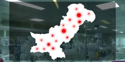 پاکستان : کورونا وائرس سے ہلاکتوں کی تعداد 14 ہوگئی، 1571 افراد متاثر