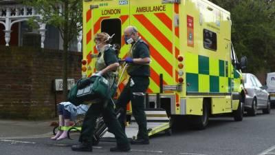 کرونا وائرس: برطانیہ میں ایک روز میں 569 مریض جاں بحق