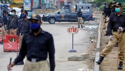 سندھ: جاری لاک ڈاؤن کی خلاف ورزی پر درجنوں زیرِ حراست
