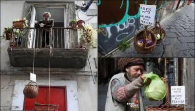 اٹلی، بے گھر افراد کی مدد کیلئے شہری کی زبردست کاوش