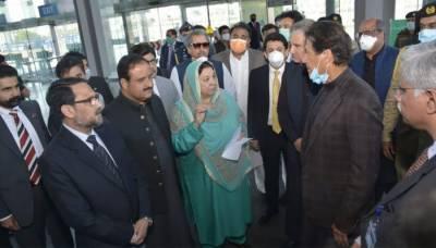 وزیراعظم کا کوروناکے مریضوں کیلئے ایکسپو سینٹر لاہور میں قائم فیلڈ اسپتال کا دورہ