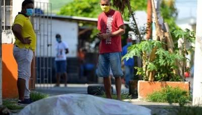 جنوبی امریکا :کورونا سے ہلاک افراد کی لاشیں سڑک پر ہی چھوڑ دی گئیں