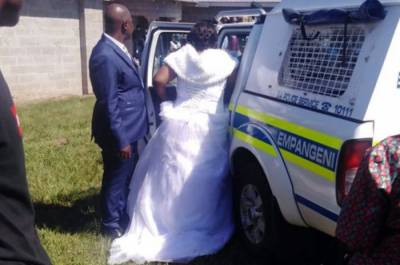 جنوبی افریقہ :نو بیاہتاجوڑے کو لاک ڈاؤن میں شادی کرانا مہنگا پڑ گیا