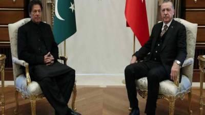 وزیراعظم کا ترک صدر سے ٹیلی فونک رابطہ، کورونا سے لڑنے کیلئے تعاون بڑھانے پراتفاق