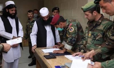 افغان حکومت نے100 طالبان قیدی رہا کر دیئے