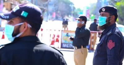 کراچی : لاک ڈاؤن کی خلاف ورزی پر 422 افراد گرفتار