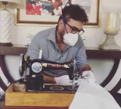 کوروناوائرس، عدنان صدیقی نے حفاظتی لباس تیار کرلیا