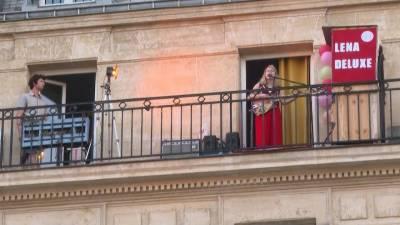 پیرس ، میوزک کانسرٹ کا انوکھا انداز متعارف