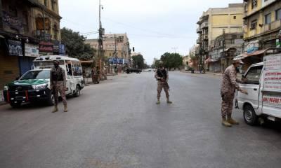 کراچی سمیت سندھ میں جمعے کا لاک ڈاؤن جاری