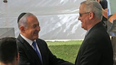 اسرائیلی سیاست میں اہم پیشرفت،نیتن یاھو اور بینی گینٹز مخلوط حکومت کی تشکیل پر متفق