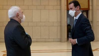 جواد ظریف کا کرونا کی وباء میں ایران اور شام پرعاید پابندیاں اٹھانے کا مطالبہ