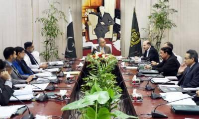 مشیر خزانہ عبدالحفیظ شیخ کی زیرصدارت اقتصادی رابطہ کمیٹی کا اجلاس آج ہوگا