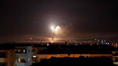 شام میں ایرانی پاسداران انقلاب کے ٹھکانوں پر اسرائیلی بمباری