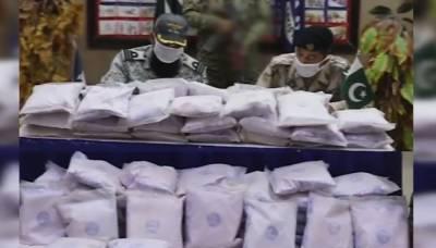 پاکستان بحریہ اور اینٹی نارکوٹکس فورس کی کارروائی، تین ارب کی منشیات برآمد